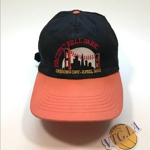 SAN FRANCISCO GIANTS STRAPBACK HAT PACIFIC BELL